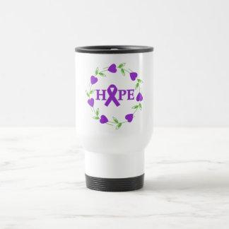 Pancreatic Cancer Hearts of Hope Mug