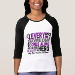 Pancreatic Cancer HERO COMES ALONG 1 Dad Tshirts