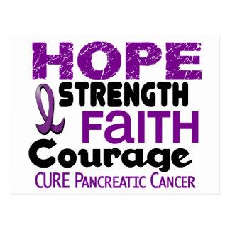 Pancreatic Cancer HOPE 3 Postcard