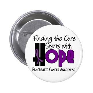 Pancreatic Cancer HOPE 4 Pinback Button