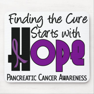 Pancreatic Cancer HOPE 4 Mouse Pad