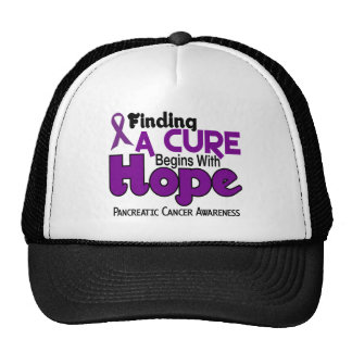 Pancreatic Cancer HOPE 5 Trucker Hats
