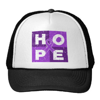 Pancreatic Cancer HOPE Cube Trucker Hats