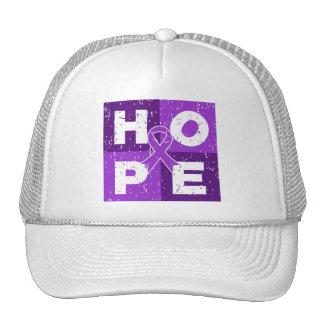 Pancreatic Cancer HOPE Cube Hat