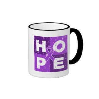 Pancreatic Cancer HOPE Cube Mugs