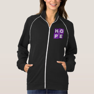 Pancreatic Cancer HOPE Cube Printed Jacket