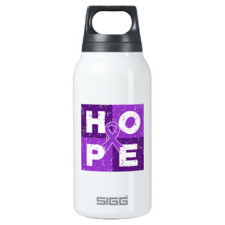 Pancreatic Cancer HOPE Cube 10 Oz Insulated SIGG Thermos Water Bottle
