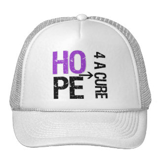 Pancreatic Cancer Hope For a Cure Mesh Hats