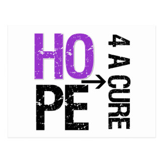 Pancreatic Cancer Hope For a Cure Postcard