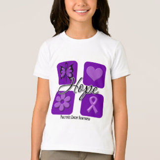 Pancreatic Cancer Hope Love Inspire Awareness T-Shirt