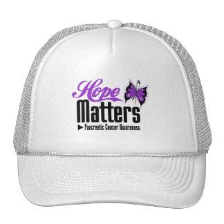Pancreatic Cancer  HOPE MATTERS Trucker Hats