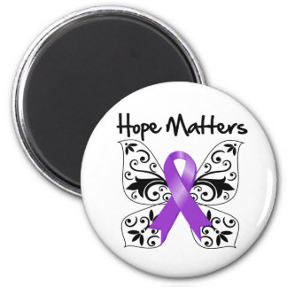 Pancreatic Cancer Hope Matters 6 Cm Round Magnet