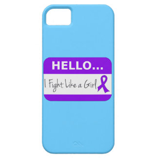 Pancreatic Cancer I Fight Like a Girl iPhone 5 Cases