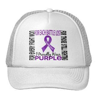 Pancreatic Cancer I Proudly Wear Purple 2 Mesh Hat