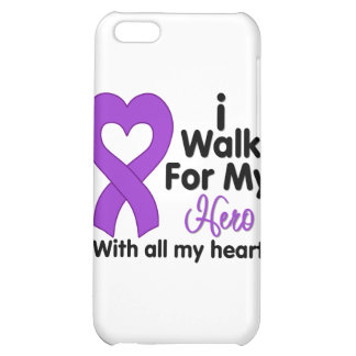 Pancreatic Cancer I Walk For My Hero Cover For iPhone 5C