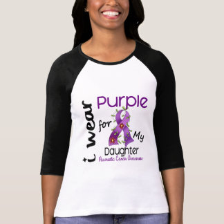 Pancreatic Cancer I Wear Purple For My Daughter 43 T Shirts