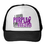 Pancreatic Cancer I Wear Purple For My Mum 6.2 Cap