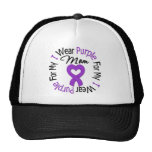 Pancreatic Cancer I Wear Purple For My Mum Cap