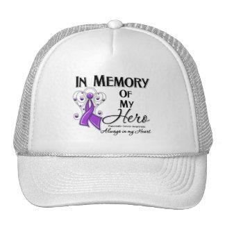 Pancreatic Cancer In Memory of My Hero Cap
