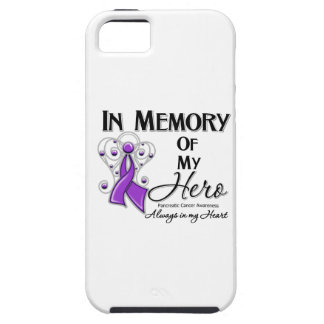 Pancreatic Cancer In Memory of My Hero iPhone 5 Cover
