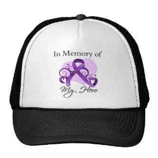 Pancreatic Cancer In Memory of My Hero Trucker Hat