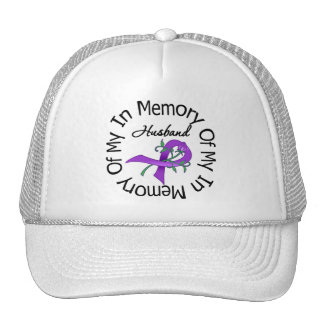 Pancreatic Cancer In Memory of My Husband Trucker Hat