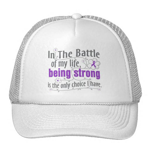 Pancreatic Cancer In The Battle Mesh Hat