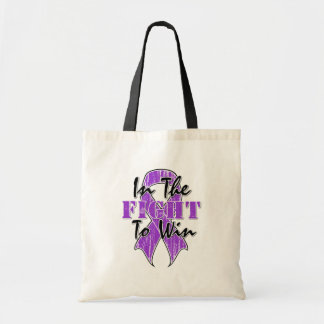 Pancreatic Cancer In The Fight To Win Canvas Bags
