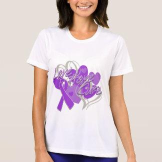 Pancreatic Cancer Love Hope Cure Tee Shirt