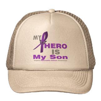 Pancreatic Cancer My Hero is My Son Mesh Hats