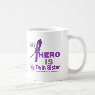 Pancreatic Cancer My Hero is My Twin Sister Mug