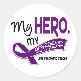 Pancreatic Cancer MY HERO MY BOYFRIEND 42 Stickers