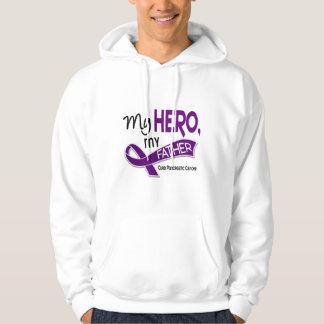 Pancreatic Cancer MY HERO MY FATHER 42 Hoodie