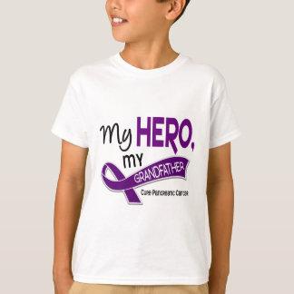 Pancreatic Cancer MY HERO MY GRANDFATHER 42 T-Shirt