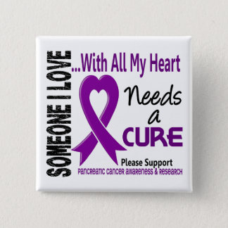 Pancreatic Cancer Needs A Cure 3 15 Cm Square Badge