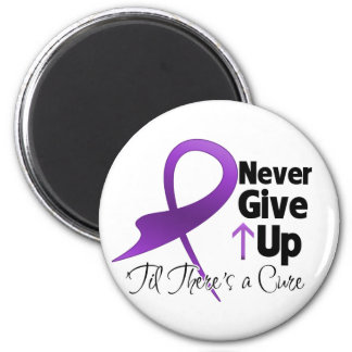Pancreatic Cancer Never Give Up 6 Cm Round Magnet