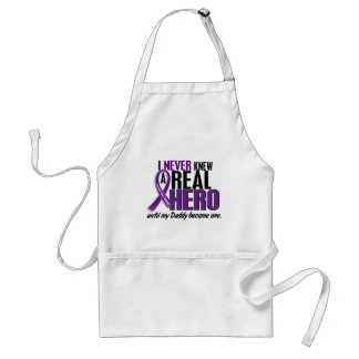 Pancreatic Cancer NEVER KNEW A HERO 2 Daddy Apron