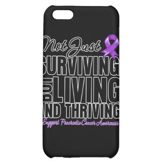 Pancreatic Cancer Not Just Surviving But Living iPhone 5C Case