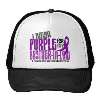 Pancreatic Cancer Purple For My Brother-In-Law 6.2 Cap
