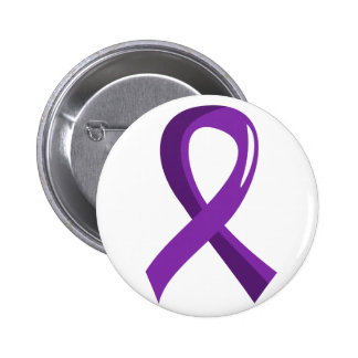 Pancreatic Cancer Purple Ribbon 3 Button