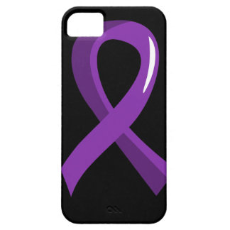 Pancreatic Cancer Purple Ribbon 3 Barely There iPhone 5 Case