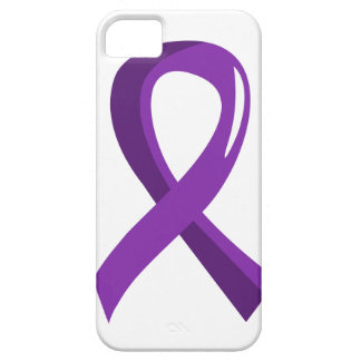 Pancreatic Cancer Purple Ribbon 3 Case For The iPhone 5