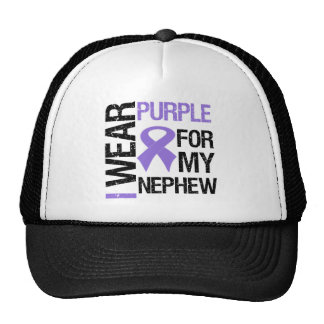 Pancreatic Cancer Purple Ribbon (Nephew) Cap