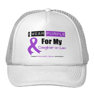 Pancreatic Cancer  Ribbon Daughter-in-Law Hat