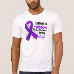Pancreatic Cancer Ribbon Hero in My Life 2 Tees