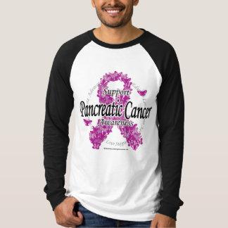 Pancreatic Cancer Ribbon of Butterflies T-Shirt