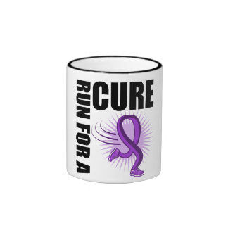 Pancreatic Cancer Run For A Cure Coffee Mugs