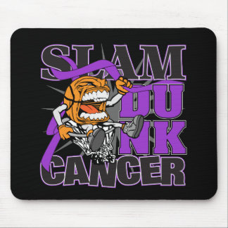 Pancreatic Cancer - Slam Dunk Cancer Mouse Pad