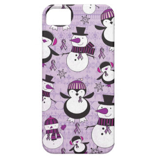 Pancreatic Cancer SNOWMAN Products Barely There iPhone 5 Case