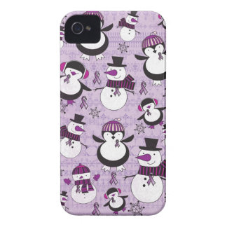 Pancreatic Cancer SNOWMAN Products iPhone 4 Cases